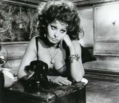 Sophia Loren Waiting