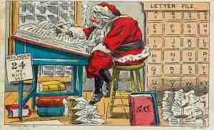 Letters From Santa (Roseanna Borelli)
