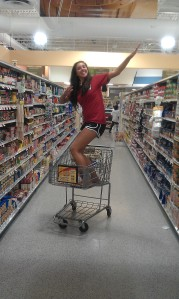 Grocery Shopping With Gionna, Summer 2011